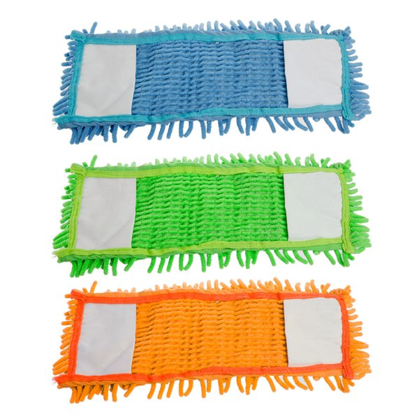 4Pcs Replacement Flat Mop Head Refill for Mops Floor Cleaning Pad Chenille