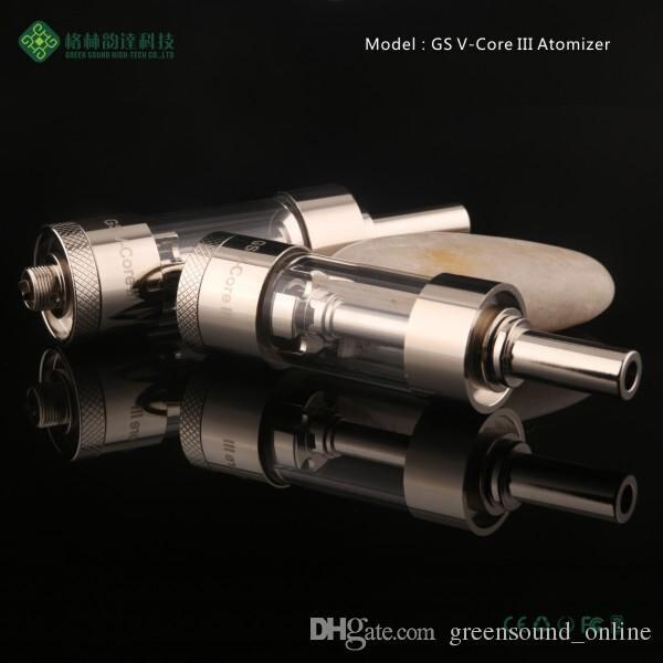 Newest GS EGO-II Twist Mega Kit V-Core III GlassTank Atomizer Ego-II Twist Battery 2200mAh EGO II Twist Mega e cigarette Kit DHL Free