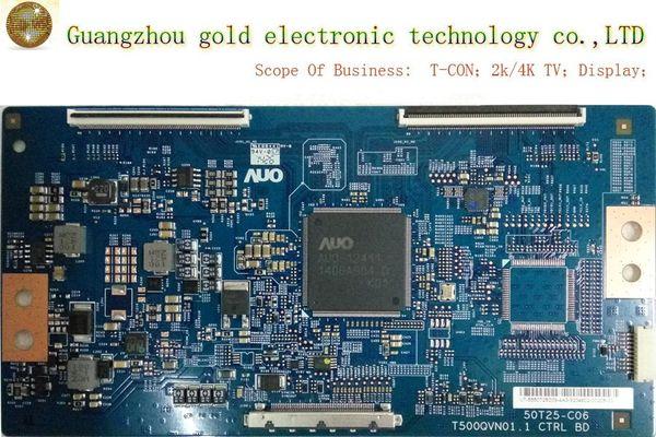 Original AUO logic board T500QVN01.1 50T25-c06 T-CON board CTRL board Flat TV Parts LCD LED TV Parts