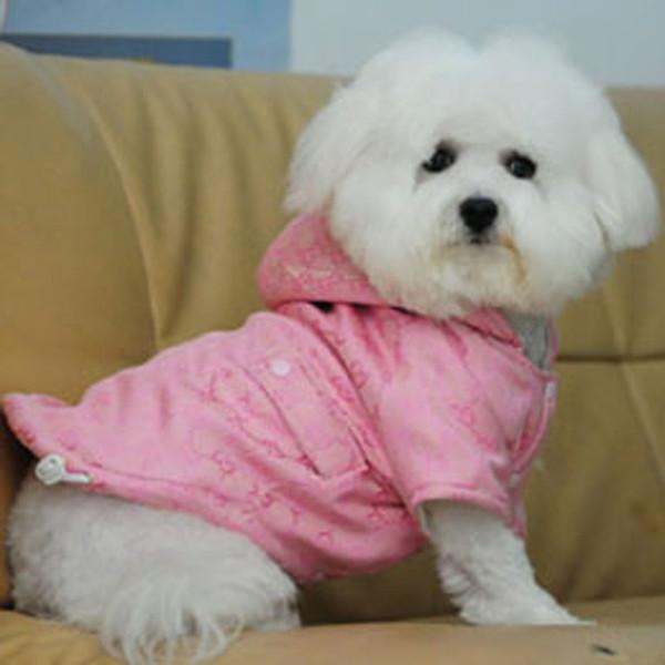 2019 Name Brand Dog Clothes Hoody CoatSize XS XL,Designer Dog Winter Coat,  Dog Padding Jacket, Classic Dog Warm Coat, Pet Apparel From Freeheart,