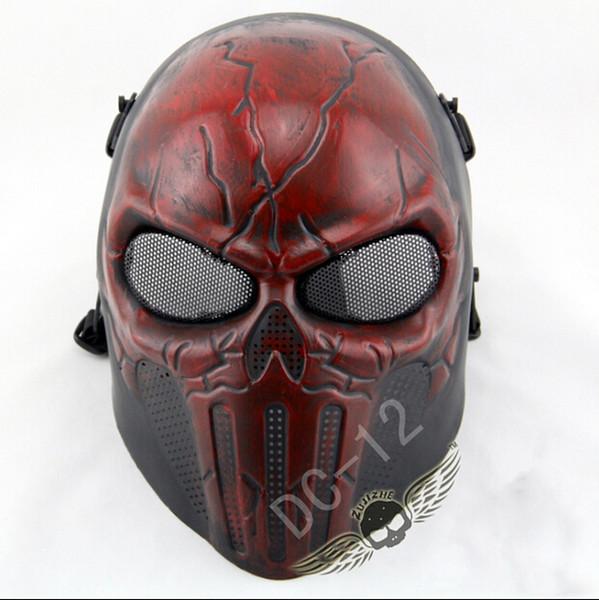 Malha de arame FRP Deadpool Máscara Táctica BB Paintball Airsoft Paintball Campo CS Jogo Máscara Prop Filme Hallow Partido Máscaras de Cosplay
