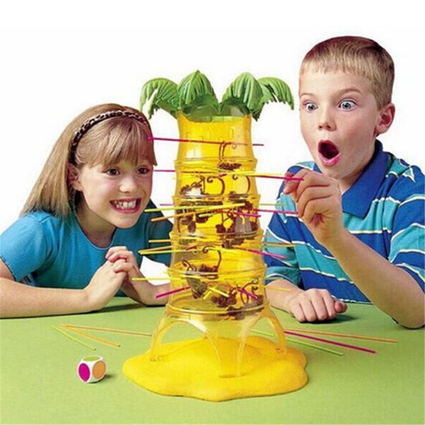 Juguetes Educativos Dump Monkey Falling Monkeys Juego De Mesa Regalos De  Cumpleaños Para Niños Interacción Familiar