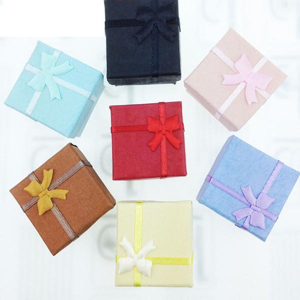 Regali di Natale Scatole per avvolgere Anello per feste Orecchini Cofanetto Bracciale Scatole per gioielli Scatole per bomboniere Custodia per articoli da regalo Custodia ZJ-T11