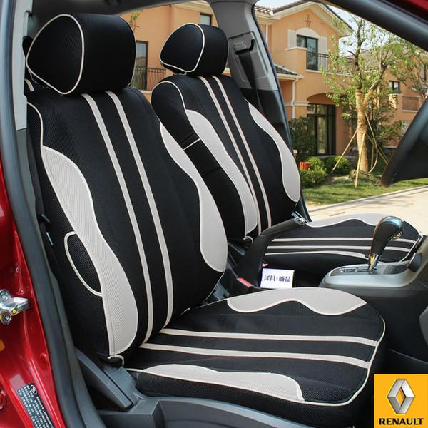 Sitzbezüge gelb hinten KOS RENAULT CLIO