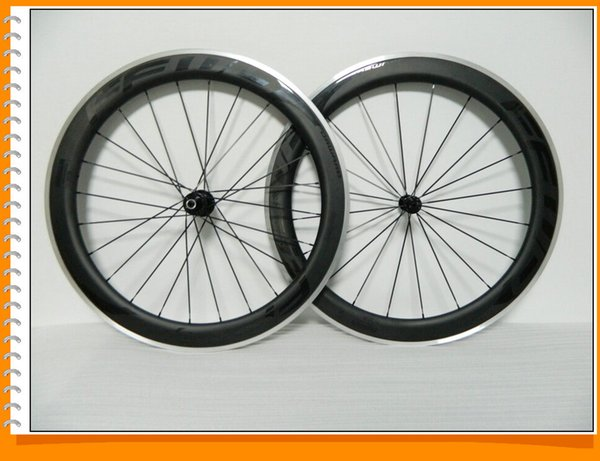 Bob Black On Black Paint Ffwd Carbon Clincher Bicycle Wheels Wheelset 60mm Road Bike Wheels matte
