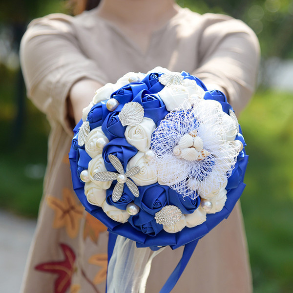 Royal Blue White
