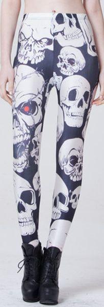 Wholesale Star digital printing, skeleton, skeleton, skulls, sexy milk, yoghurt, yoga tight stretch and casual underpants
