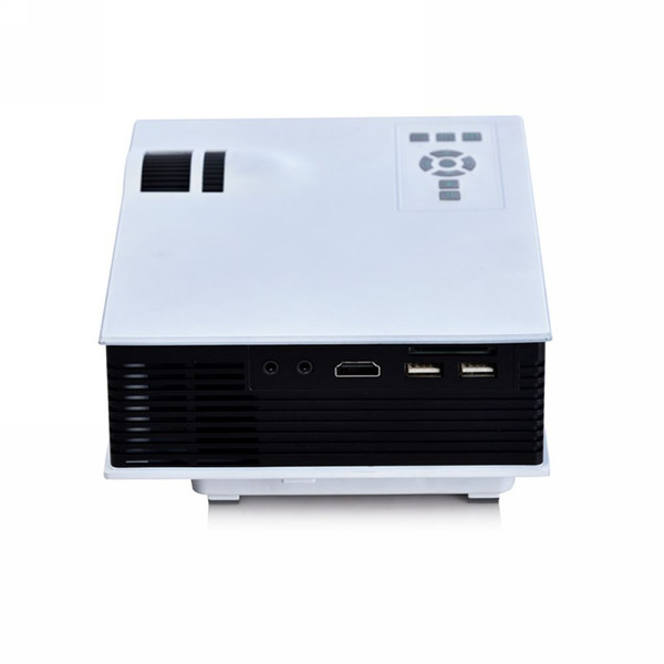 Retail And Wholesale Free Dhlcheap Portable Uc40 Mini Projector Led  Proyector Video Hd 720p 1080p Projector Beamer Home Theater Cinema Av Tv  Hdmi