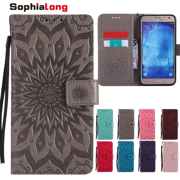 Phone Cases for Samsung Galaxy S3 S4 S5 Mini S6 S7 Edge Case Flip Cover Wallet Card Holder