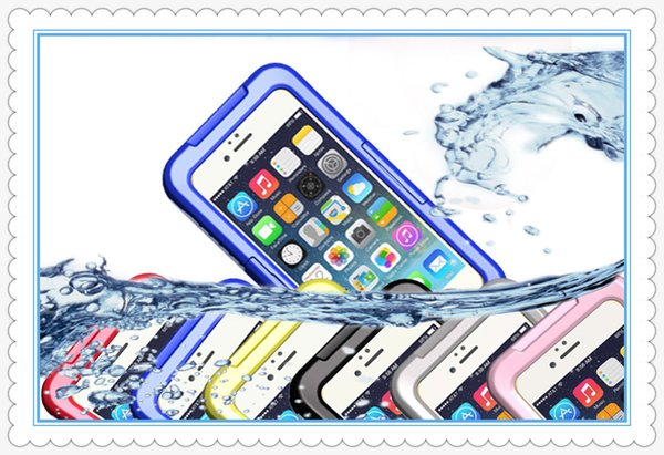 Waterproof Dirt Snow Shock Water Proof Shockproof Case For iphone6 4 4S 5 5S Samsung s3 s4 s5 note4 9300 9500 Case 300pcs