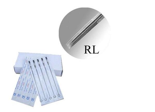 Tattoo Needles 50Pcs/Set Professional Assorted Mix Round Liner 1RL 3RL 5RL- 7RL-9RL-11RL-13RL-14RL-15RL Stainless Steel H0256