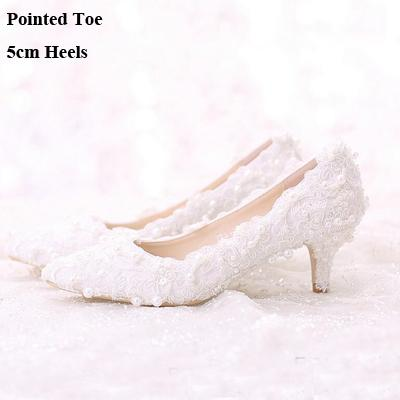 Pointed Toe 5cm Heels