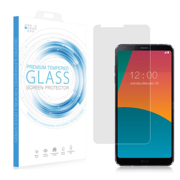 2.5D Full Cover Tempered Glass Protector for LG G6 K4(2017) Premium 0.33MM 9H Flim with Retail Package