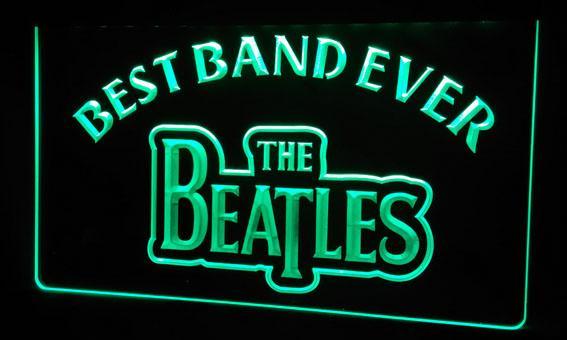 LS253-г Лучшая группа Ever The Beatles неоновый свет Вход