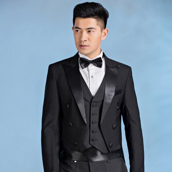 2017 New Design Men Suit Tailcoat Wedding Suit For Men\'S Trim Fit ...
