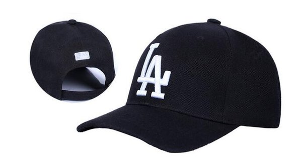 New Arrival Basketball Baseball Black Hats Snapback NY LA caps Embroidered Logo High Quality Snapbacks Hip-Hop adjustable hats caps