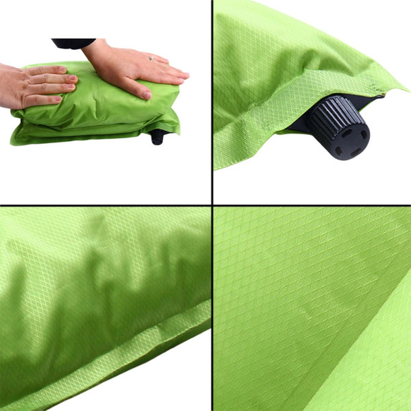Automatic Inflatable Air Cushion Pillow Portable Outdoor Travel Popular