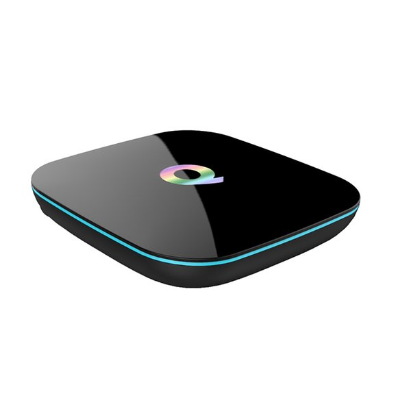 Q BOX 2GB 8GB Android 6.0 TV Box Quad Core Amlogic S905X 2.4G WiFi Bluetooth IPTV Smart TV Box