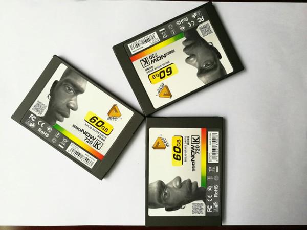 top popular New Metal 7mm 2.5 Inch SATA3 SSD 60GB Solid State Laptops Desktops Computer lnternal HD SSD 60gb hard drives 2019