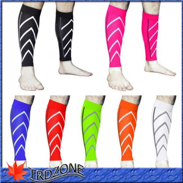 Calf Support Compresión graduada Manga de pierna Calcetines deportivos Ejercicio al aire libre