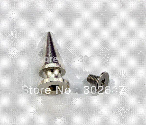 30PCS Bullet Spike Stud Leathercraft Cone Rivet 20x10mm #22554 M66881 rivet stud stud rivet rivets and studs