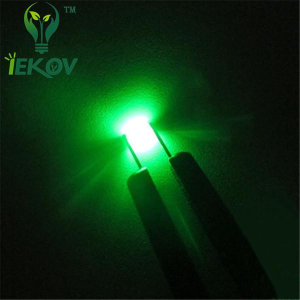 100 pcs Super bright SMD SMT 1206 GREEN LED lamp Bulb TOP QUALITY