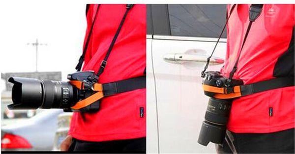 Universal Photography fixed Waist Belt DSLR Camera Holder Mountain Climbing Traveling Bicycling Waist Belt for Canon Nikon Sony