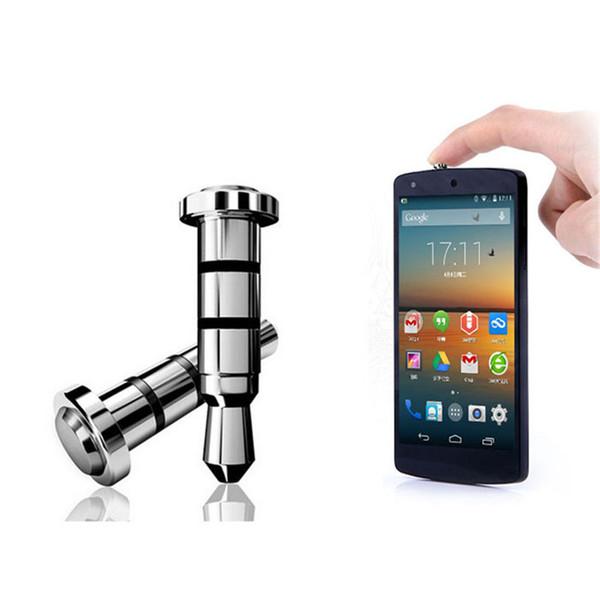 Toptan-En İyi Fiyat 2PC Android işletim sistemi APP Kısayol için Hızlı iKey Basın Düğme Toz Plug tıklayın