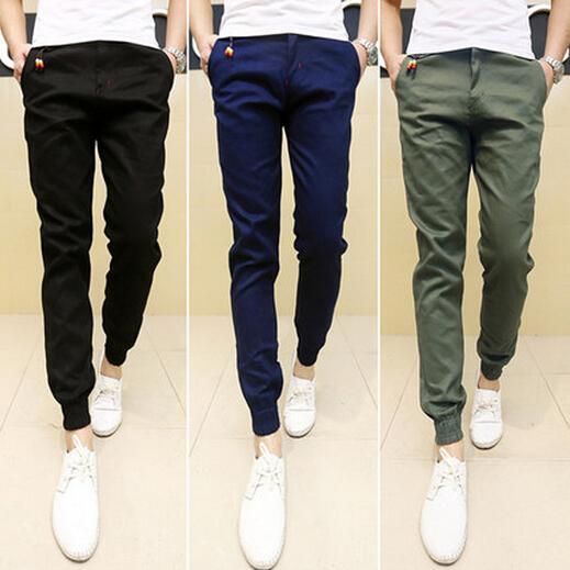 best selling Wholesale-2016 New Mens Skinny Joggers Chinos Slim Pants Men Trousers Hip Hop Pantalones Hombre Plus Size S-XXXL