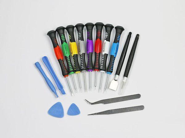 16 in 1 PRY Riparazione Apertura di strumenti fissi Cacciaviti di smontaggio Kit di kit di montaggio per iPhone Cell Phone dall'alberino della Cina