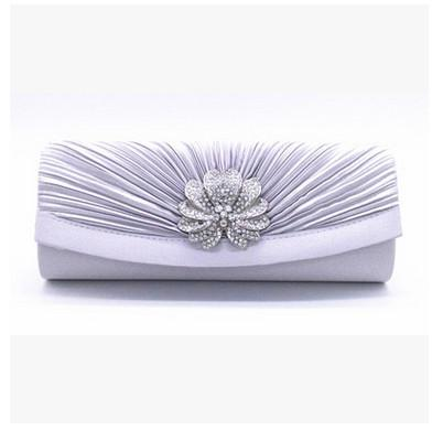 silver evening bags