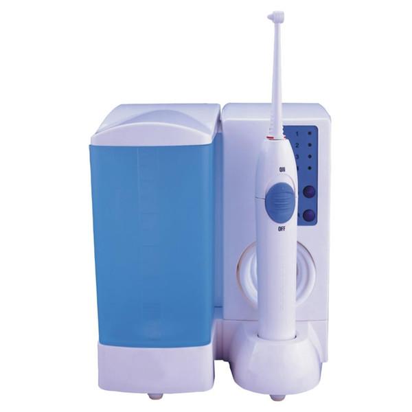 O ozônio dental por atacado do jato de água o irrigador oral com gerador do ozônio e esteriliza, o jato dental do ozônio saudável que pulsa o líquido de limpeza da língua do dente