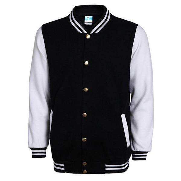 prix plancher plus grand choix enfant New High School Baseball Jacket Men Veste Homme 2017 Autumn Mens Fashion  Slim Cotton Varsity Jackets Casual Brand College Jacket Jacket And Coats ...