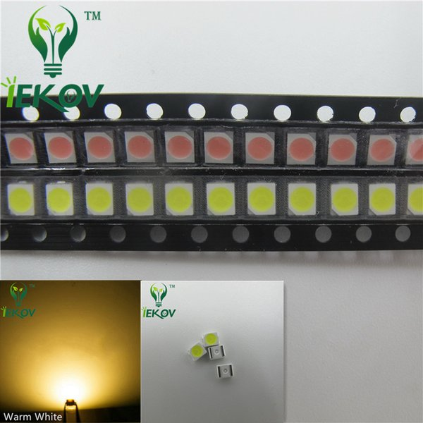 2835 0.2W SMD 5000pcs Warm White LED Super Bright Light Diode High Quality SMT Chip lamp beads Suitable for bicycle DIY