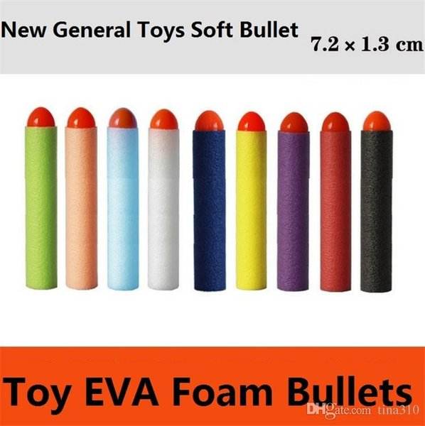 Wholesale - direct selling electric toy gun soft bullet general parts new point soft EVA foam bullets Sports Toys 4141-3