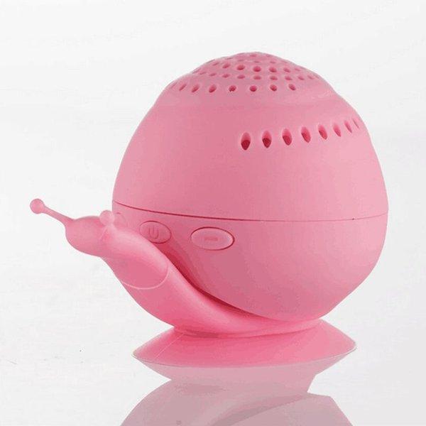 Snail Bluetooth Speaker Pink