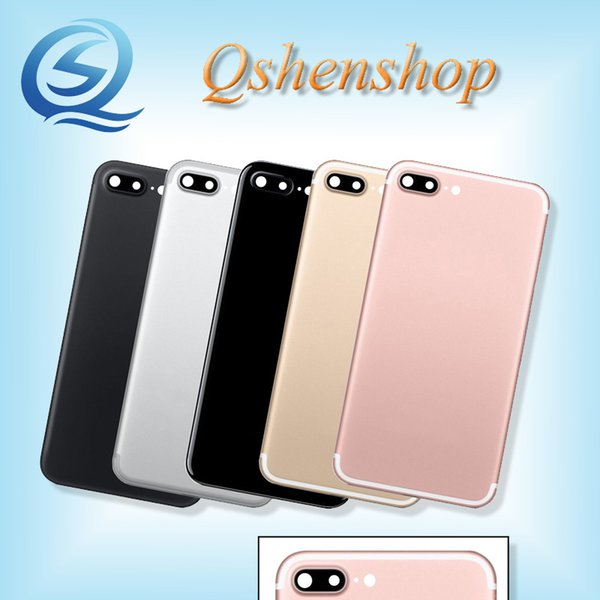 2019 Replacement Back Cover For Iphone 7 Plus Housing Black Gloss Black Gold White Rose Gold 55 Inch From Qshenshop 1568 Dhgatecom
