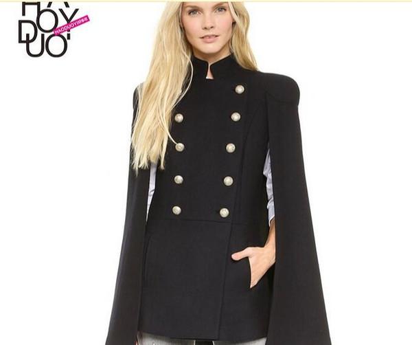Manteau laine capuche pas cher femme