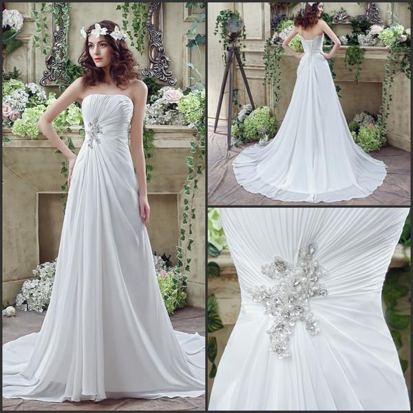 Discount 2016 Cheap Wedding Dresses Under 100 Dollars In Stock Floor ...