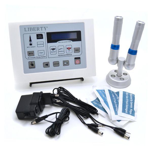 Liberty dermographe maquillage Machine de tatouage numérique à maquillage permanent avec interrupteur à pédale