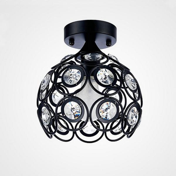 Moderne Glanz K9 Kristallglas Deckenleuchten Leuchten für Zuhause Schlafzimmer Wohnzimmer Badezimmer Küche E27 Led Lampe