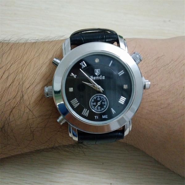 32 GB 16 GB Mini reloj cámara Mini reloj de pulsera Cam videocámara portátil reloj grabadora de video Micro reloj cámara de seguridad DVR envío gratuito