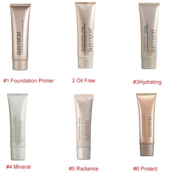 best selling Makeup Laura Mercier Foundation Primer Hydrating  mineral  oil free Base 50ml 4styles High Quality Face Makeup natural long-lasting DHL