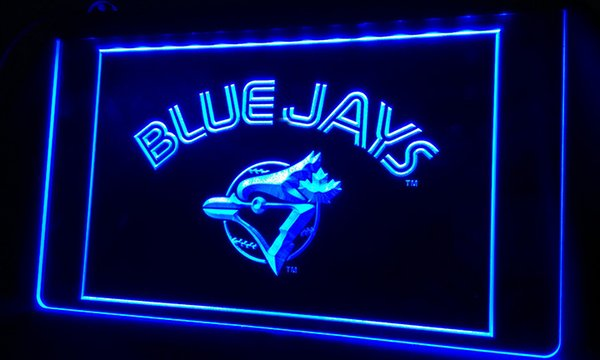 top popular LS366-b Blue Jays-LED Neon Light Sign 2019