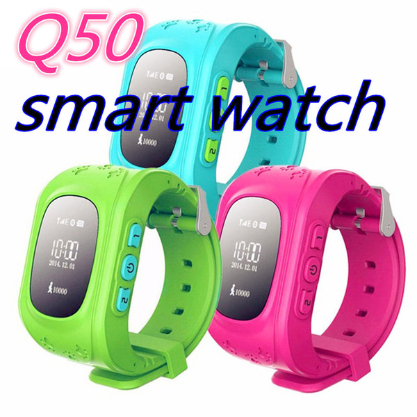 top popular Q50 GPS Smart Kid Safe smart Watch SOS Call Location Finder Locator Tracker for Child Anti Lost Monitor Baby Son Wristwatch 2019