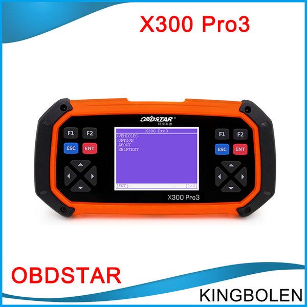 DHL Free OBDSTAR X300 PRO3 Key Master OBDII X-300 Auto Key Programmer OBD2 Odometer Correction Tool EEPROM/PIC Update Online