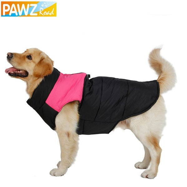 Free Shipping Dog Clothes Winter Clothing Large Dog Vest Warm Apparel Pet Clothes High Quality Clothing For Dog Pet Supplies