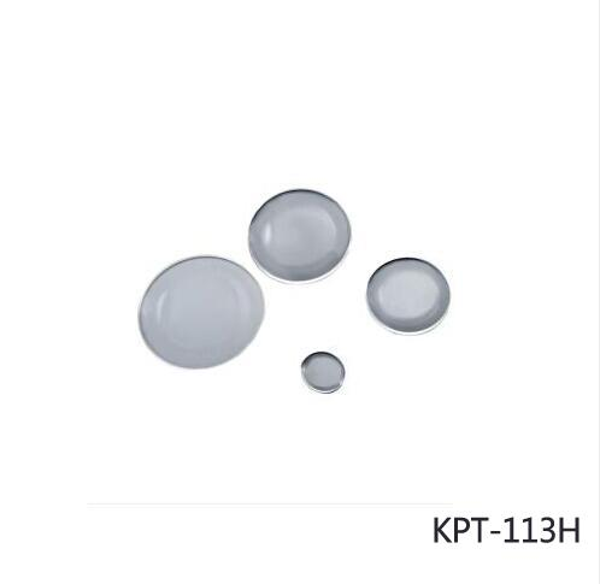 KPT-113H K9 Plano convex lens, Optical lens, Plating near-infrared multilayer antireflection film, dia:25.4mm, f:175.0mm
