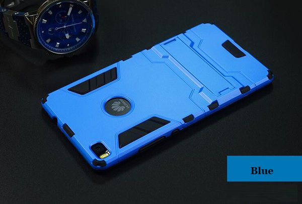 Cheap OEM cell phone case for Huawei P8 P9 Iron Man armor case with stand mobile phone cover case