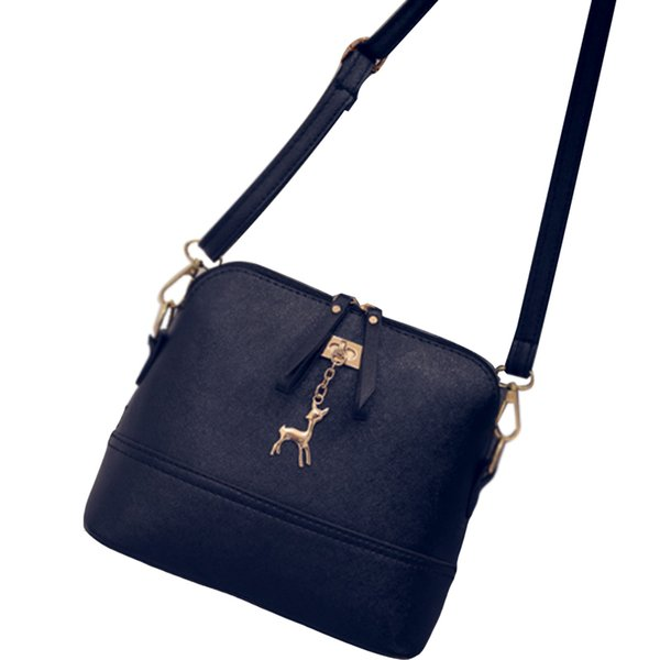 New Arrival Women Shoulder Bag Deer Small Shells Bag Women Leather Cross Body Popular Message Bag 6 colors
